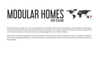 MODULAR HOMES New Zealand