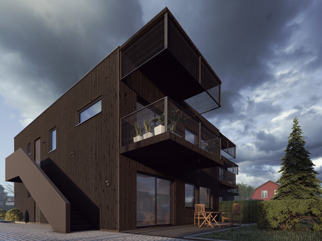 SNAPPHANEN HOUSING, SWEDEN