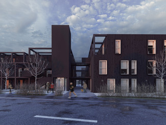 Small housing community proposal, Sweden