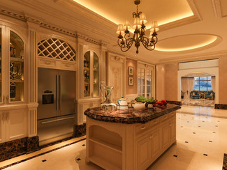 Buffet Interior Design