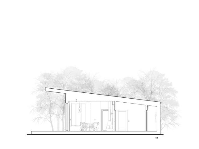 Hempcrete House Section