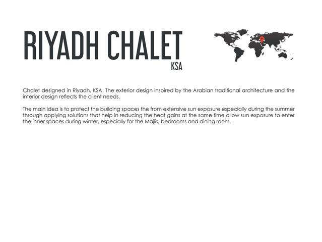 Arabian Chalet KSA