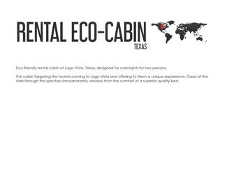 Rental Eco-Cabin Texas