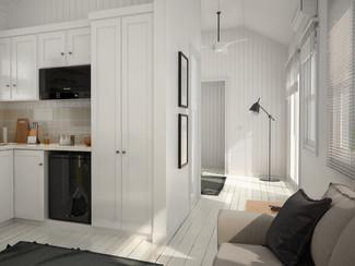 Mobile house Interior