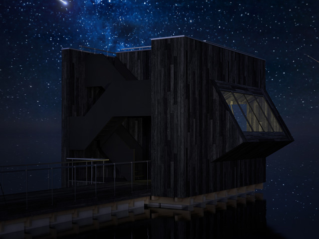 STARGAZING FLOATING CUBE - Netherlands