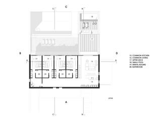 Modern minimalist villa interior design