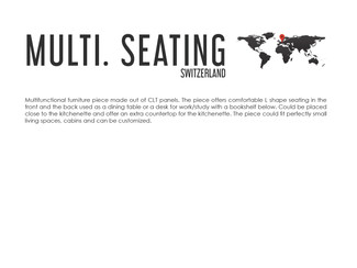 MULTIFUNCTIONAL SEATING DESIGN