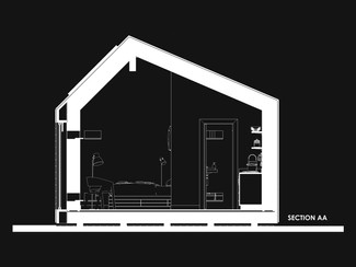 Small Eco House Section