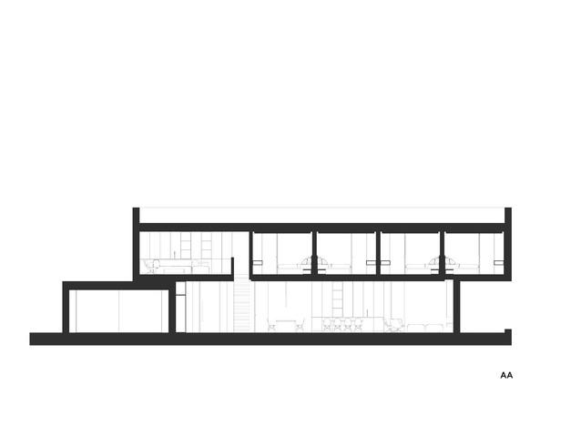 Modern minimalist villa design
