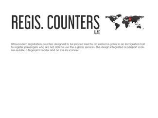 REGISTRATION COUNTERS DESIGN