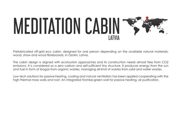 MEDITATION ECO CABIN