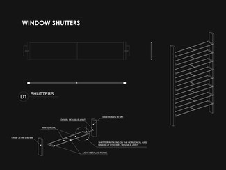 Eco-House - Window Shutters