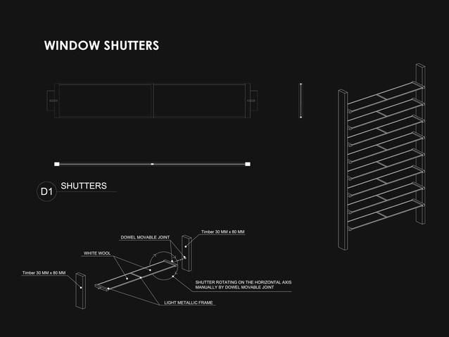 Eco-House - Window Shutters