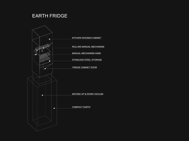 Eco-House - Earth Fridge