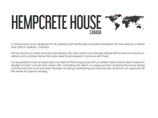 Hempcrete House