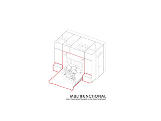 MULTIFUNCTIONAL CUPBOARD DESIGN