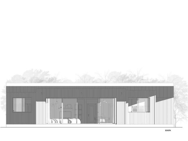 Hempcrete House South Elevation