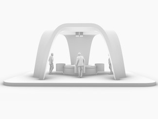 EXHIBITION STAND STRUCTURE