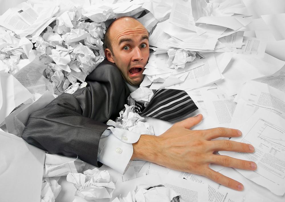Losing Paperwork