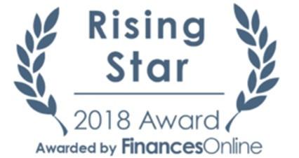 ShareDocs Enterpriser Wins the Coveted Rising Star Award 2018 from Finances Online!