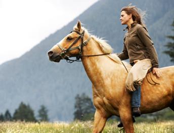 Montana Cabin Rentals Horseback Riding