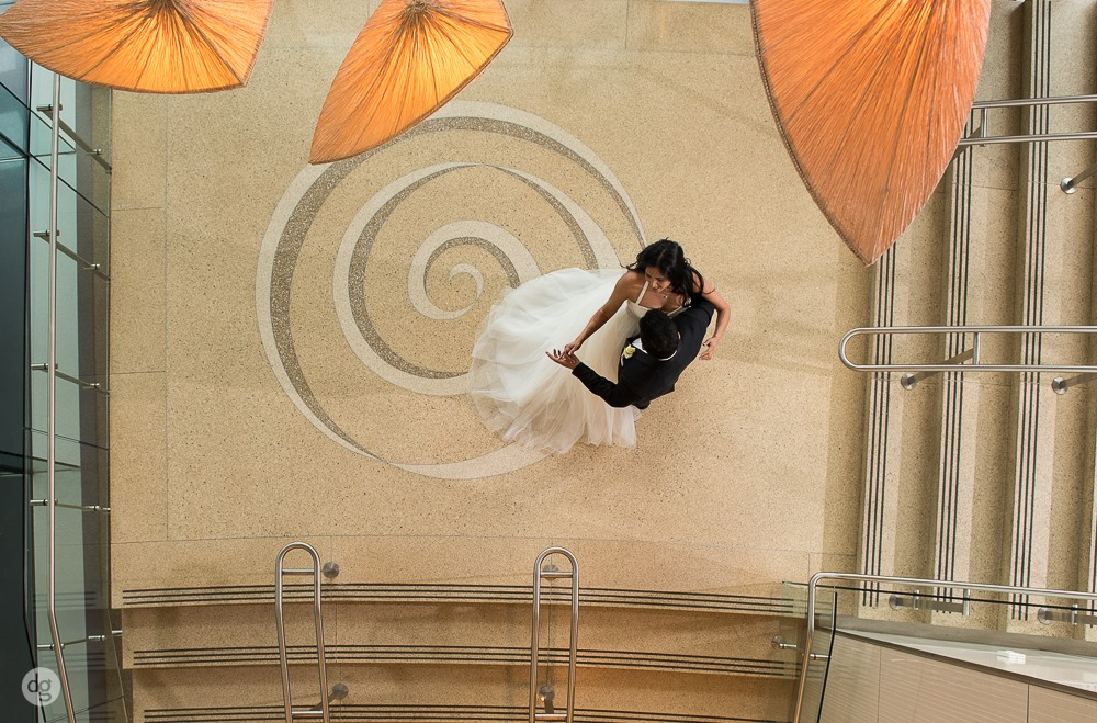 Bride & Groom Rennaissance Hotel
