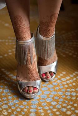 Bridal Hindu Feet