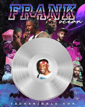 Frank Ocean Vinyl Poster