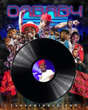 DaBaby Vinyl Poster