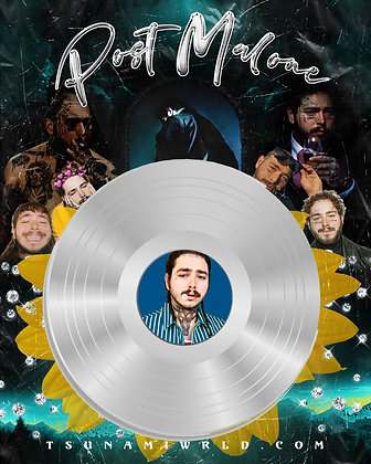 Post Malone Vinyl Poster