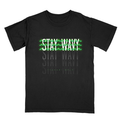 Stay Wavy Short Sleeve Tee