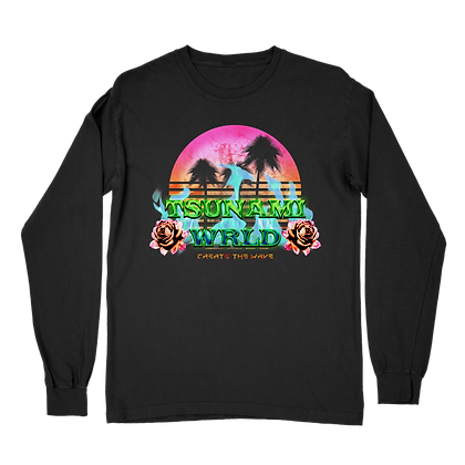 Floral and Flames Long Sleeve