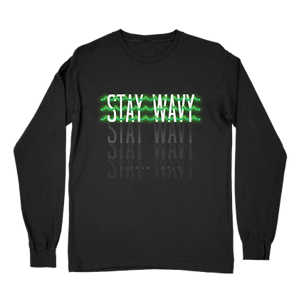 Stay Wavy Tee Long Sleeve