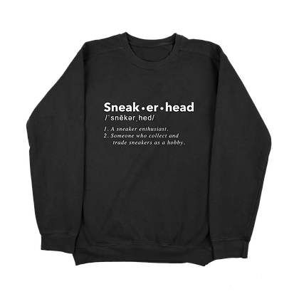 Sneakerhead Definition Crewneck