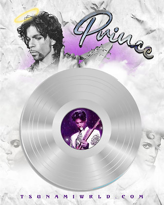 Prince Vinyl Poster