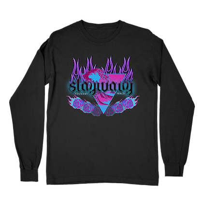 Flame and Floral Long Sleeve