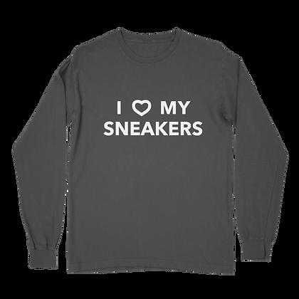 I Love My Sneakers Long Sleeve