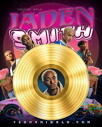 Jaden Smith Vinyl Poster