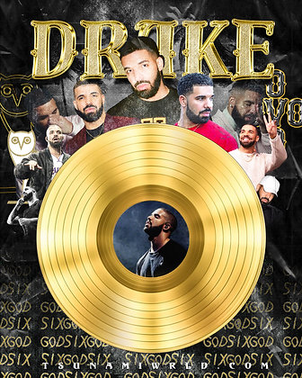 Drake Vinyl Poster