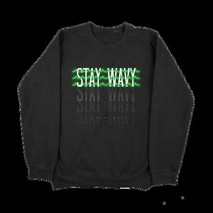 Stay Wavy Crewneck