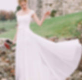 Bride at Farnham Castle