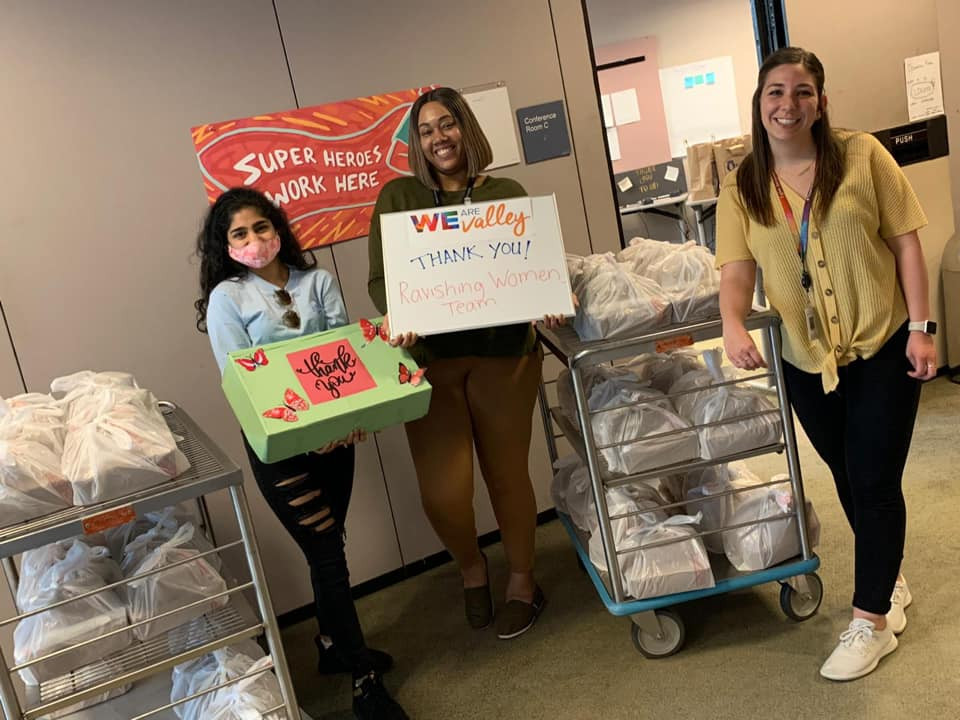 Meals and Masks Donation at Valley Medical Hospital in Renton on April 8th