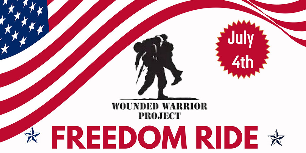 Freedom Ride - Fundraiser for Wounded Warrior Project