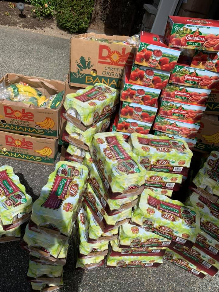 Grocery Donation for 200 low income families at Sunset Church in Renton on April 14th