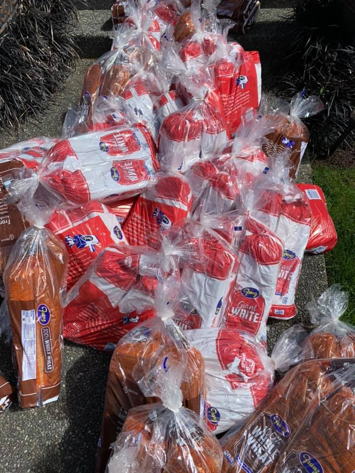 Got 200 BIG breads for donation on April 15th