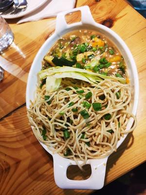 7 Butter Garlic Noodle with Seven Treasu