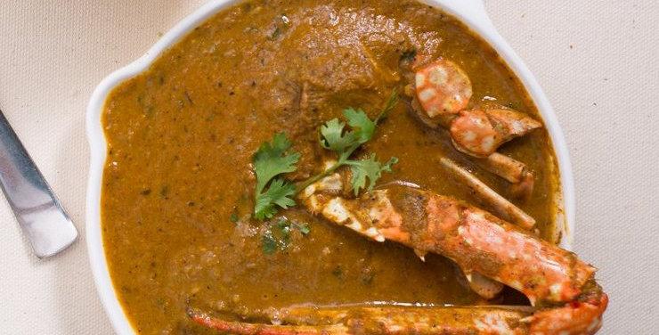 CHETTINADU CRAB Gravy + Rice