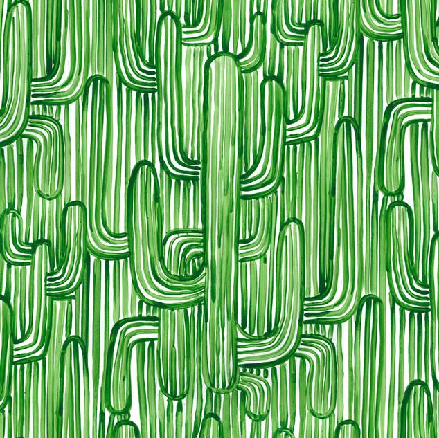 Sonora wallpaper - Green