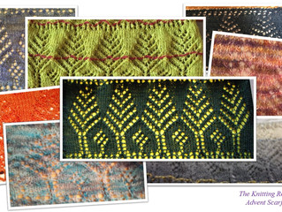 Advent Scarf: Day 14 (and 13)