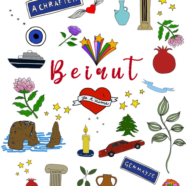 Beirut illustration